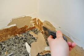 Remove Mirror Glued To Wall Removing The Side Splash U0026 Backsplash From Our Bathroom Sink