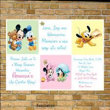 disney baby shower invitations marialonghi com