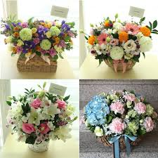 flower delivery reviews fgk s choice of the day large flower basket flower delivery
