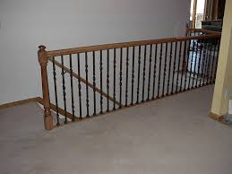 Diy Banister Wrought Iron Railings Home Design By Larizza