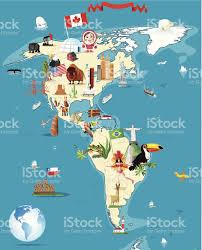 Acapulco Mexico Map by Cartoon Map Of America Stock Vector Art 150541628 Istock
