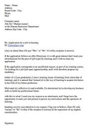 cover letter for apprenticeship apprenticeship cover letter
