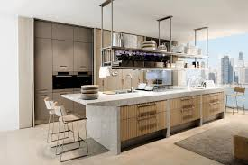 modern kitchens cabinets white wooden island fancy dark blue