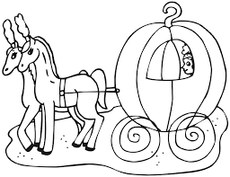 97 ideas cinderella coach coloring pages emergingartspdx