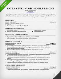 Example Of Cashier Resume by Entry Level Nurse Resume Template Free Downloadable Resume