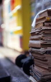 pile of books macro android wallpaper free download
