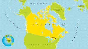 Map Of Canada With Cities canada country profile national geographic kids