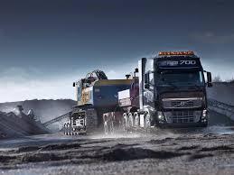 pare de papel de parede de caminhão e carreta as máquinas pesadas