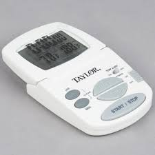 taylor 1470fs digital cooking thermometer and kitchen timer