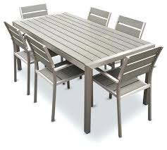 black rectangular patio dining table black outdoor dining table promotop info
