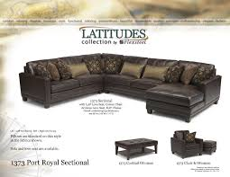 Spencer Leather Sectional Living Room Furniture Collection Living Room
