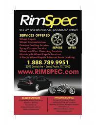 lexus wheels powder coated rimspec dealer services wheel rim repair bent damaged curb