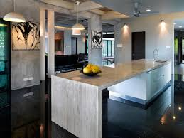 Kitchen Marble Design Kitchen Island Grey Marble S11 House In Selangor Malaysia By