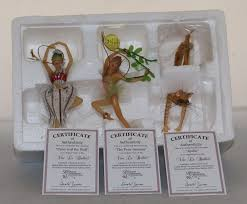 ballerina ornaments vive le ballet set 8 heirloom ornaments by