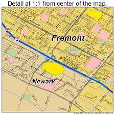 area code of california us fremont california map 0626000