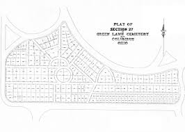 Franklin County Ohio Map by Green Lawn Cemetery Columbus Ohio