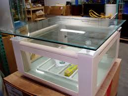 coffee tables breathtaking aquarium stand and canopy custom