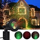 motion laser light projector amazon com 2 color motion laser christmas lights projector with ir