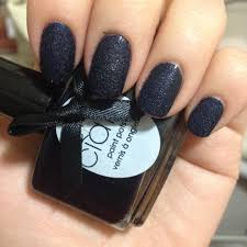 ciate velvet manicure blue suede nail naily