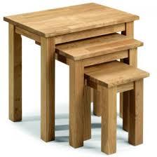 julian bowen coxmoor solid oak julian bowen coxmoor solid oak nest of tables house ideas