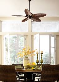 ceiling fans for dining rooms pleasantly and naturally palm leaf ceiling fan u2014 home ideas collection