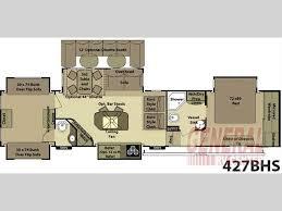 Open Range 5th Wheel Floor Plans 297 Best Rv Images On Pinterest Ranges Open Range And Rv Living