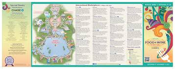Map Of Epcot 2014 Food And Wine Festival Week U2013 Part 5 Tips Dadfordisney