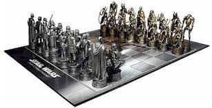star wars chess sets collectors gallery star wars attack of the clones chess set hasbro