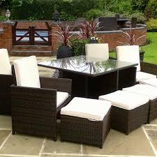 outdoor 8 piece outdoor patio set garden table seats 8 discount