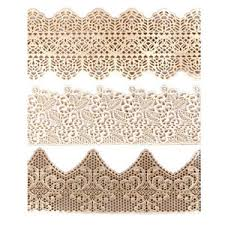 edible lace house of cake edible lace ready made decoration sugarcraft trim