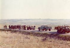 reservation siege air church and army apcs at 1973 wounded knee incident south
