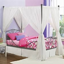 diy canopy bed curtains