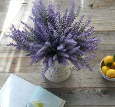 Flower Home Decoration by Amazon Com Artificial Lavender Flowers 8 Large Pieces To Make A