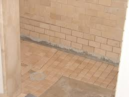 bathroom shower floor ideas how to install tile in a bathroom shower hgtv