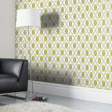orsino yellow wallpaper departments diy at b u0026q living room