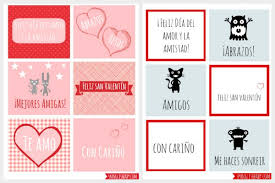 printable stickers valentines valentine s day cards in spanish printable spanglishbaby