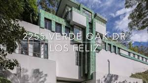Los Feliz Real Estate by Lloyd Wright U0027s U2013 The Samuel Novarro Residence In Los Feliz Youtube