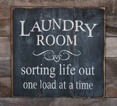 Laundry Room Decor Signs by Laundry Wooden Signs Large Wood Sign Laundry Room Subway Sign By