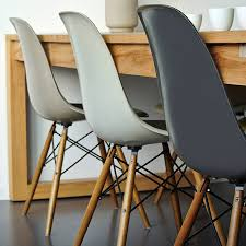 Wood Dining Chairs Designs Winter Luxe Neutrals Pair Dining Chairs Dove Grey Design