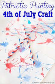 4th of july craft patriotic painting