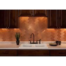 copper backsplash for kitchen 16 best copper backsplash images on copper backsplash