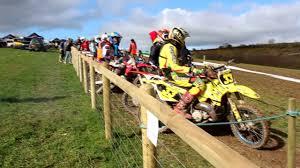 local motocross races first motocross race win suzuki rm 125 2 stroke youtube