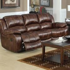 cognac leather reclining sofa abbyson skyler cognac leather reclining sofa sofa brown