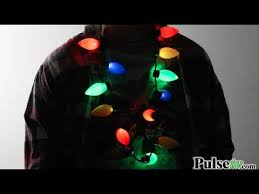 flashing christmas light bulbs flashing christmas light bulb necklace youtube
