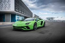 Lamborghini Aventador Neon Green - the new lamborghini aventador s dynamic launch in valencia