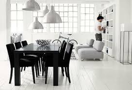 wei e st hle esszimmer inneneinrichtung in schwarz weiß 20 esszimmer interieurs