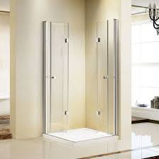 Shower Folding Doors China 2 Bi Folding Doors Frameless Shower Cabin Enclosure K 741