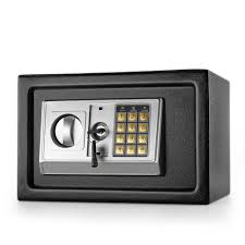 Security Cabinet Electronic Depository Safe Box W Drop Slot Opening Keypad