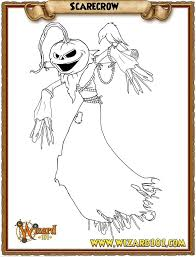 coloring pages scarecrow by wizard101devinstale on deviantart
