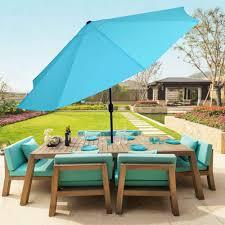 Blue And White Striped Patio Umbrella Menards Patio Table Florida Patio Furniture Black And White